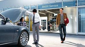 Сервисное партнерство с BMW