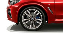 Широкі колісні арки BMW X4