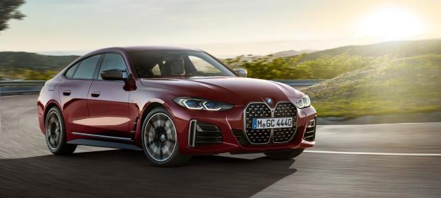 BMW Group представляє новий BMW 4 серії Gran Coupé.