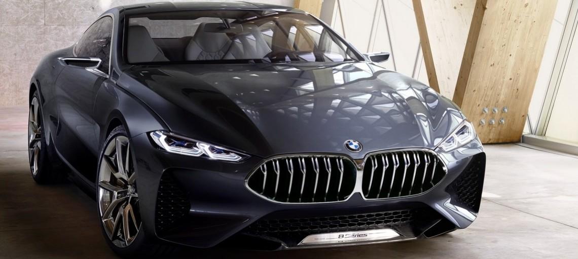 Концепт BMW 8 серии Coupe. Чистая динамика и современная роскошь – воплощение настоящего купе BMW.