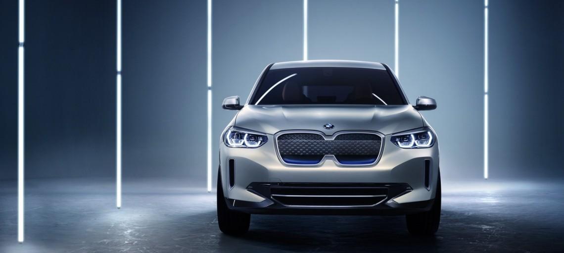 Концепт BMW iX3. Первый электрический SAV.