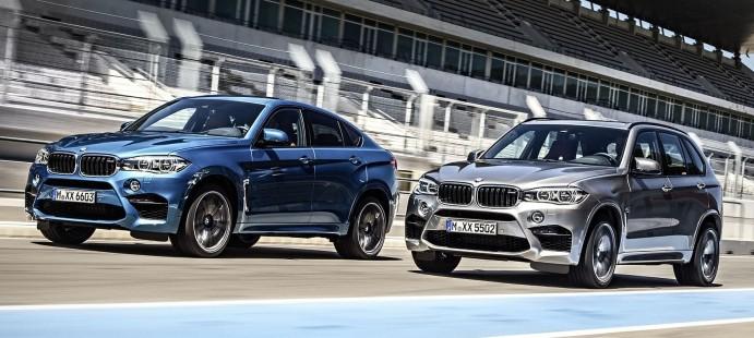 Демонстрація сили: нові BMW X5 M і BMW X6 M
