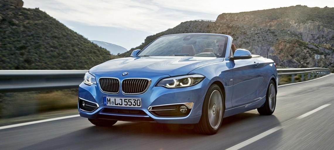 Нові BMW 2 серії Купе і Кабріолет.