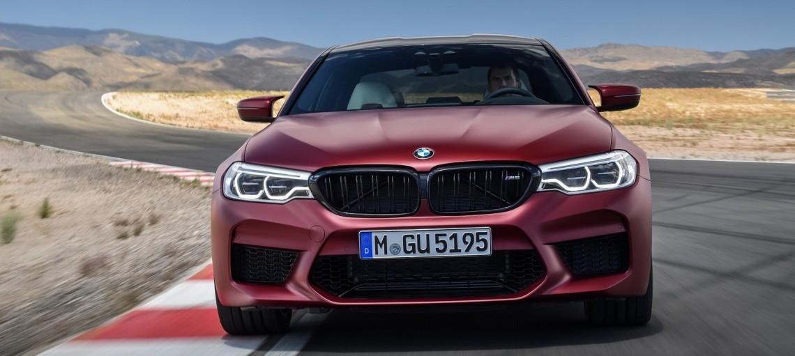 Повністю новий BMW M5